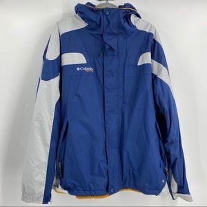 Columbia Mens Vertex Blue Waterproof Jacket XXL